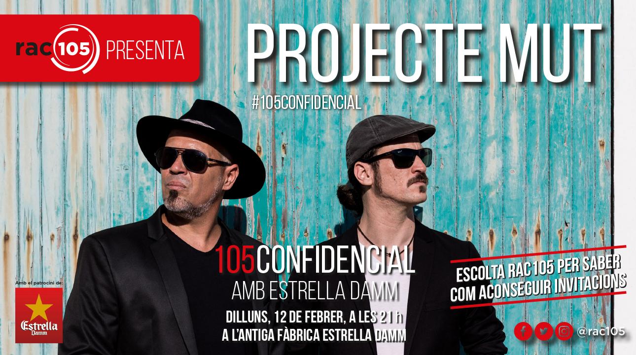105Confidencial amb Projecte Mut