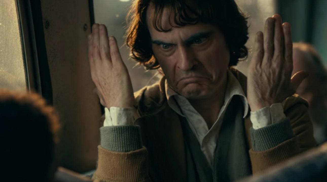 Van al cinema a veure el 'Joker' i apareix Joaquin Phoenix