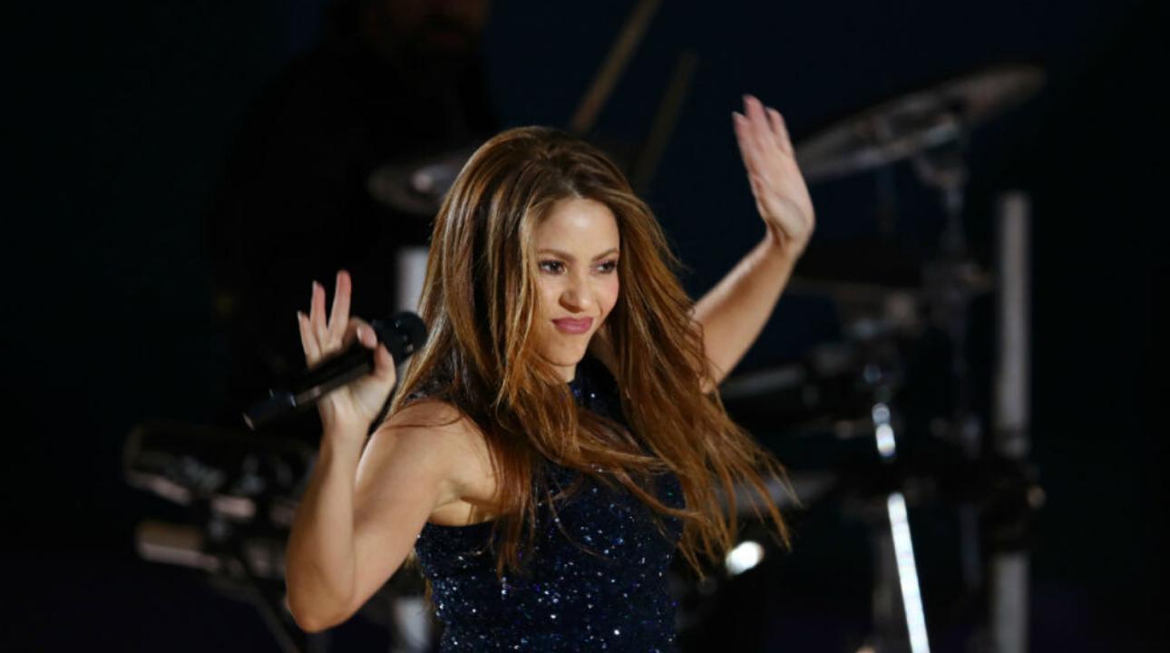 Shakira brilla a la final de la Copa Davis