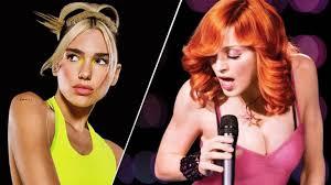 Dua Lipa podria col·laborar amb Madonna
