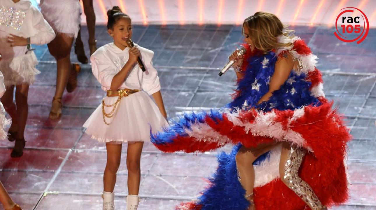 La filla de Jennifer Lopez, Emme, ha parlat sobre la seva actuació a la mitja part de la Super Bowl 2020.