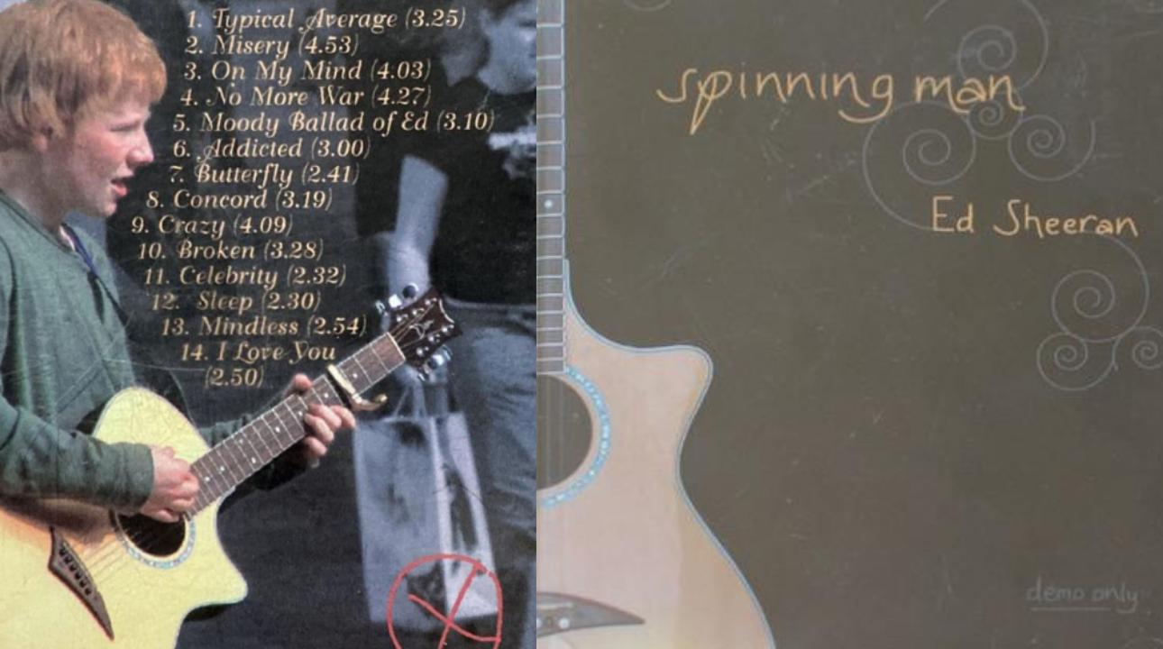 Es ven la primera maqueta d'Ed Sheeran per 50.000 lliures