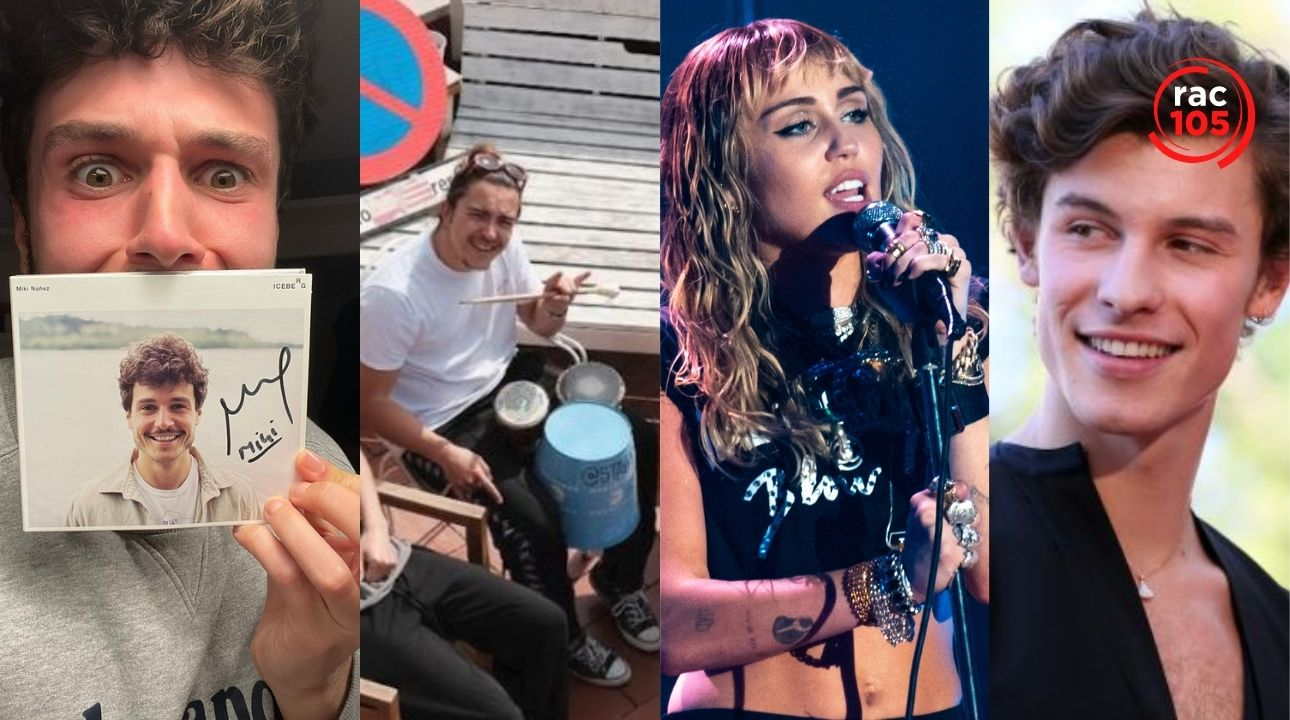 Miki Núñez, Stay Homas, Miley Cyrus amb Dua Lipa, Shawn Mendes amb Justin Bieber i Kylie Minogue, són les novetats de la setmana de RAC105