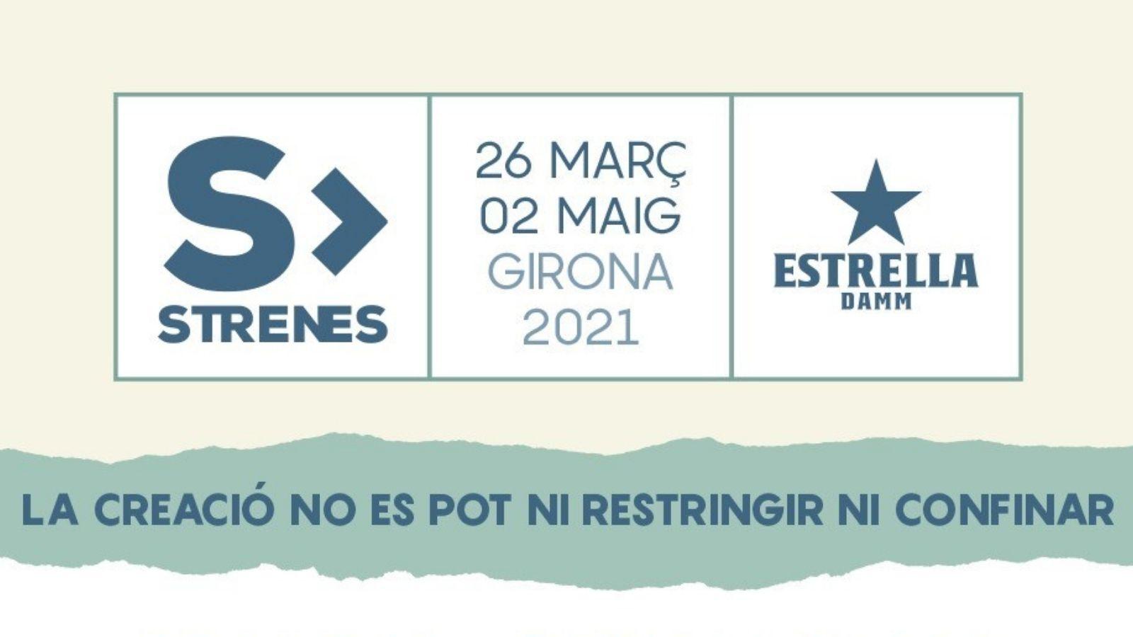 Torna el Festival Strenes de Girona, del 26 de març al 2 de maig