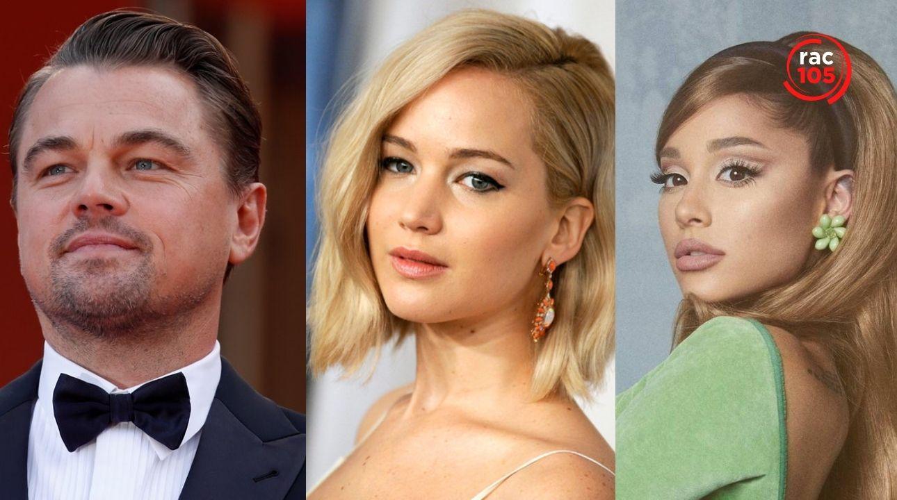 Tot el que sabem de 'Don't look up', la pel·lícula en què apareix Ariana Grande i protagonitzen Jennifer Lawrence i Leonardo DiCaprio