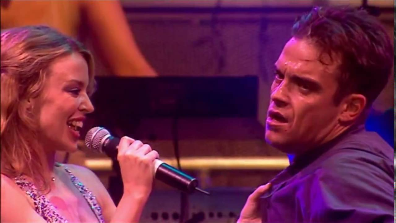 Robbie Williams i Kylie Minogue han gravat una cançó conjunta en secret