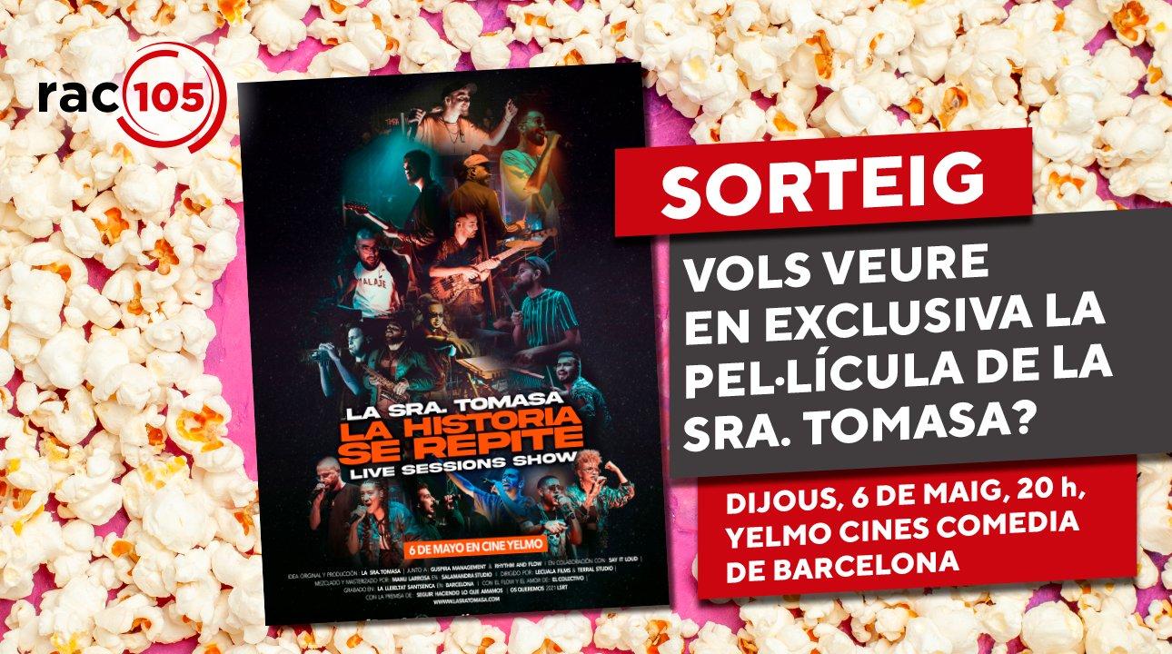 Guanya una entrada doble per veure en exclusiva la nova pel·lícula de La Sra. Tomasa