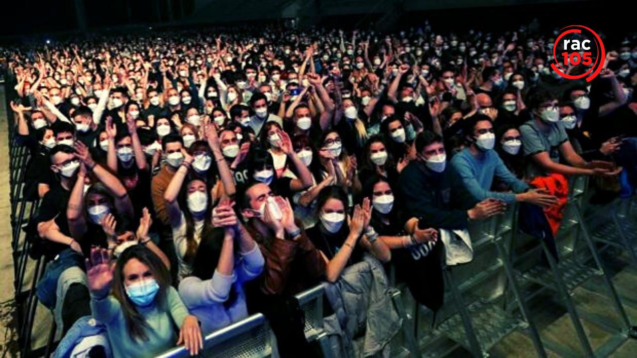 El concert de Love of Lesbian al Palau Sant Jordi pràcticament no va causar cap contagi