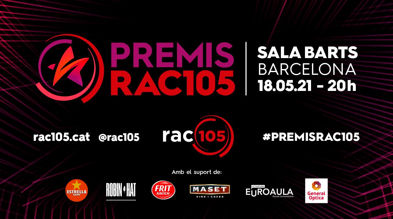 PREMIS RAC105: EL RECONEIXEMENT A LA MÚSICA EN TEMPS DE PANDÈMIA