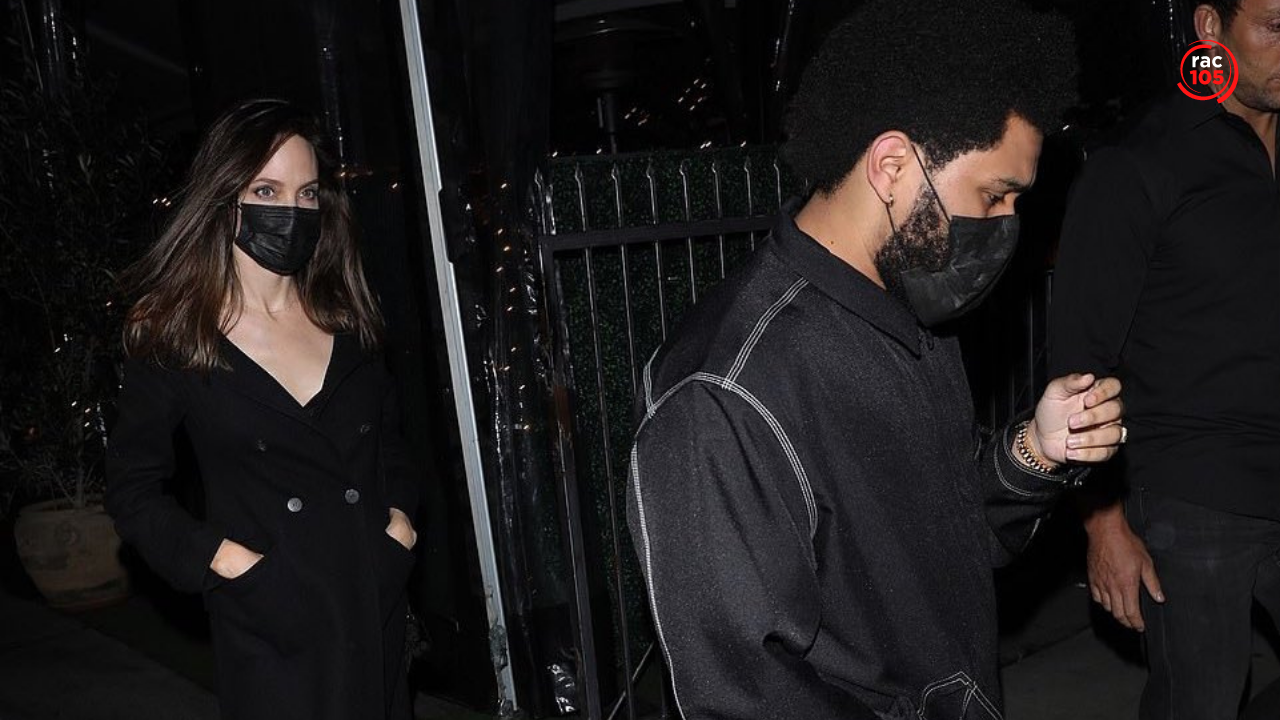 Angelina Jolie i The Weeknd, vistos junts anant a sopar
