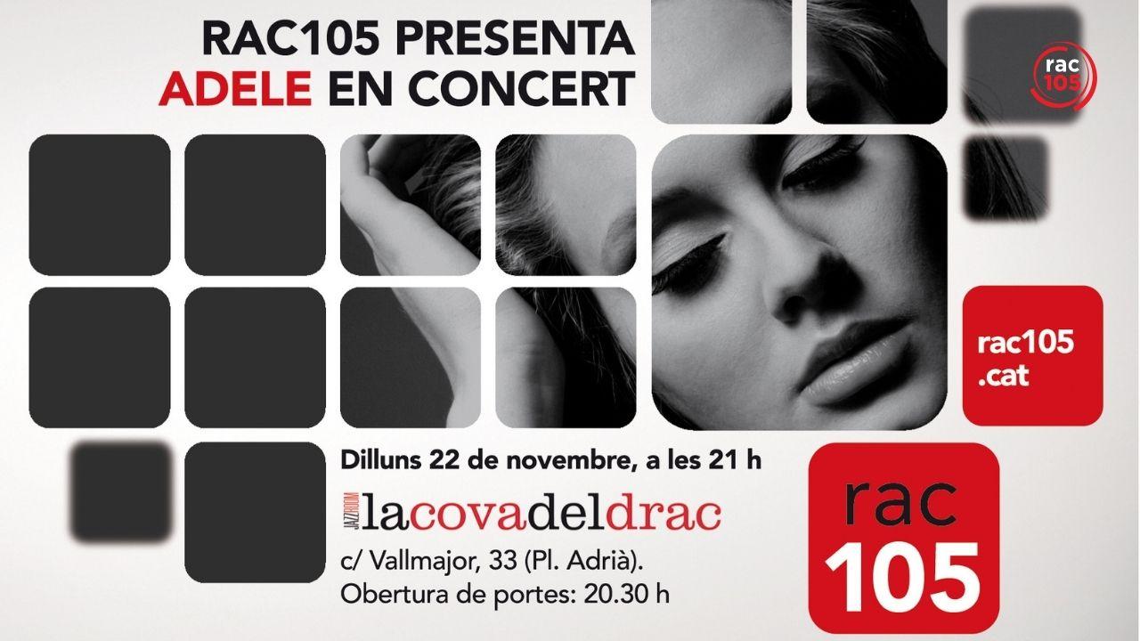 El dia que Adele va cantar 'Someone like you' per 105 oients de RAC105 a Barcelona